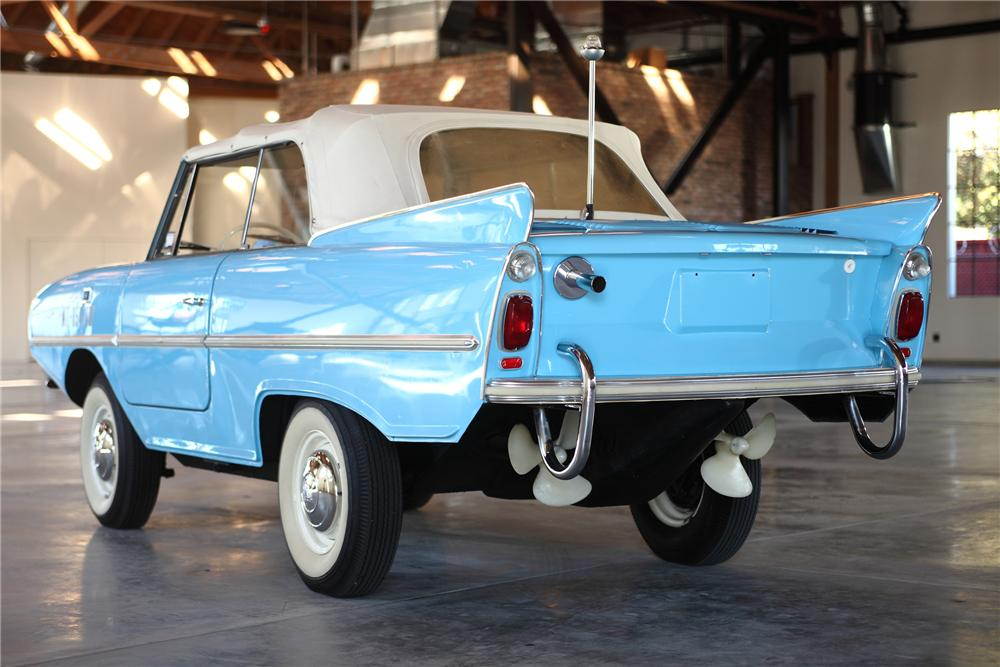 1967 AMPHICAR 770 CONVERTIBLE - Rear 3/4 - 81973