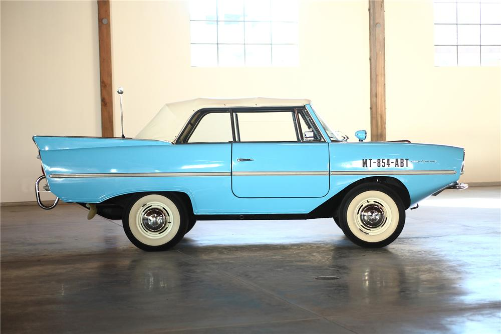 1967 AMPHICAR 770 CONVERTIBLE - Side Profile - 81973
