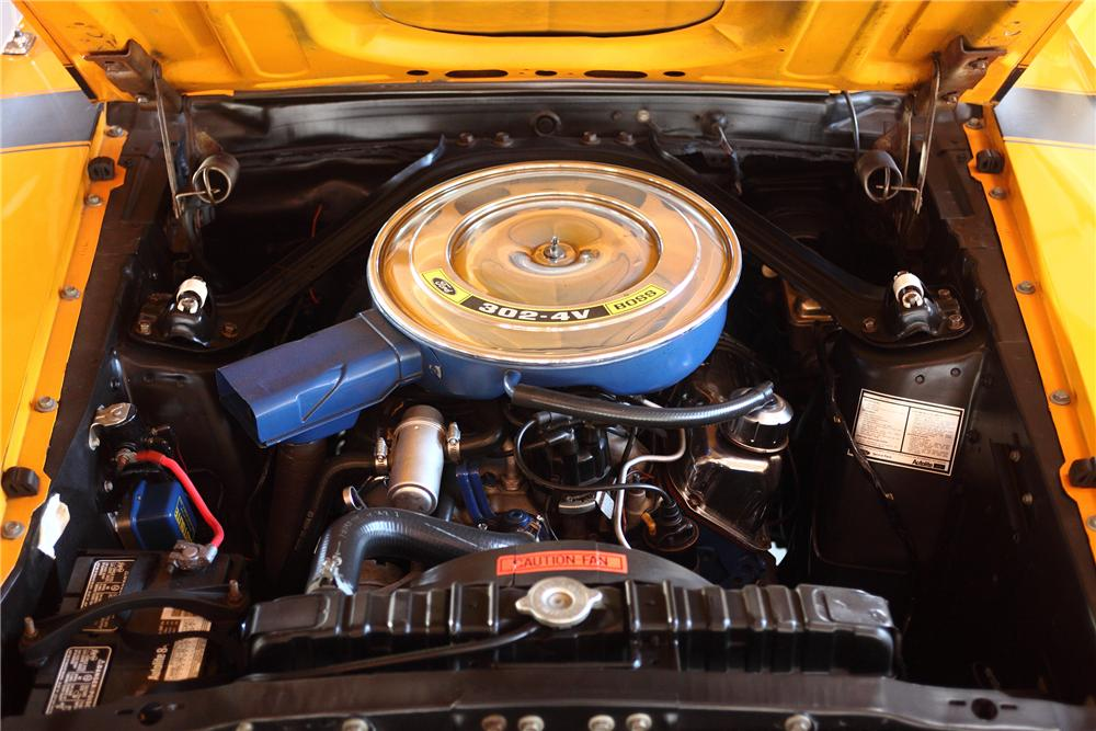 1970 FORD MUSTANG BOSS 302 FASTBACK - Engine - 81978