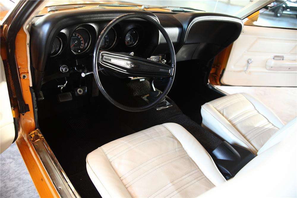 1970 FORD MUSTANG BOSS 302 FASTBACK - Interior - 81978