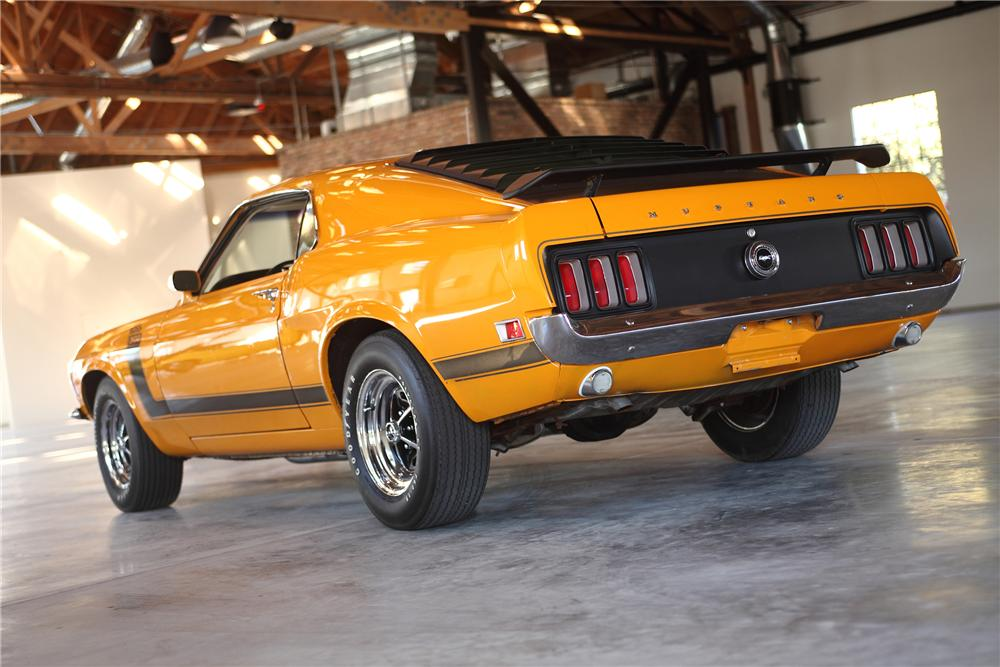 1970 FORD MUSTANG BOSS 302 FASTBACK - Rear 3/4 - 81978