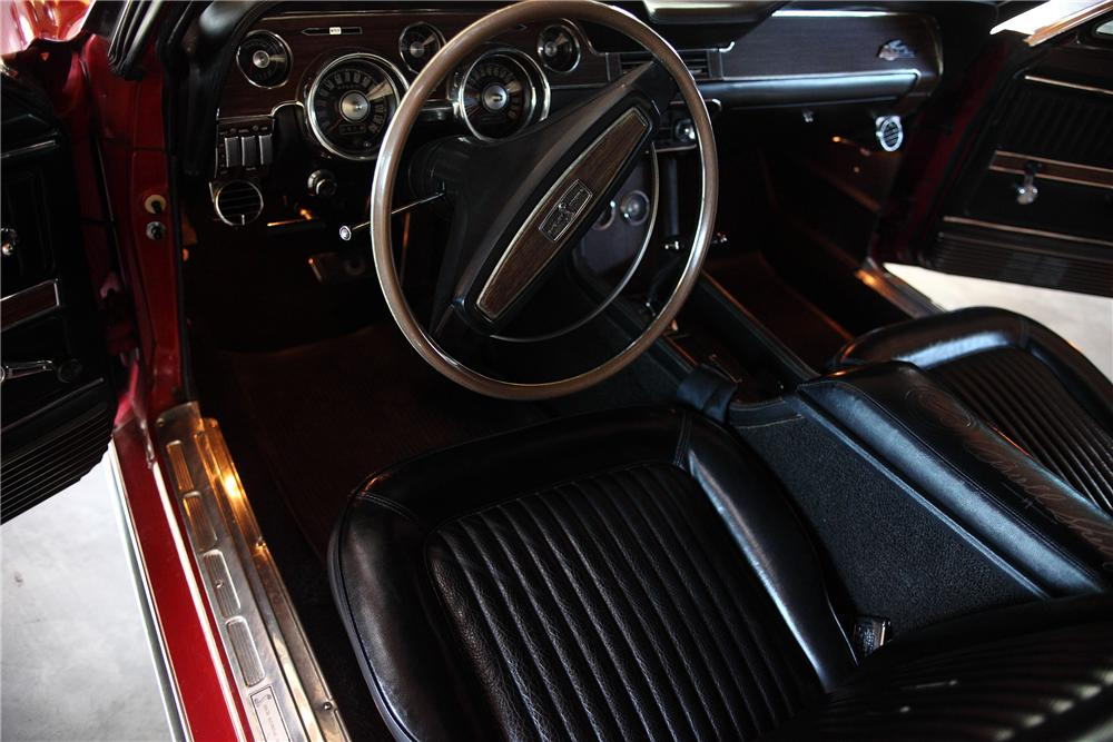 1968 SHELBY GT500 CONVERTIBLE - Interior - 81980