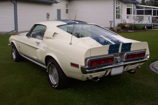 1968 SHELBY GT500 FASTBACK - Rear 3/4 - 81985