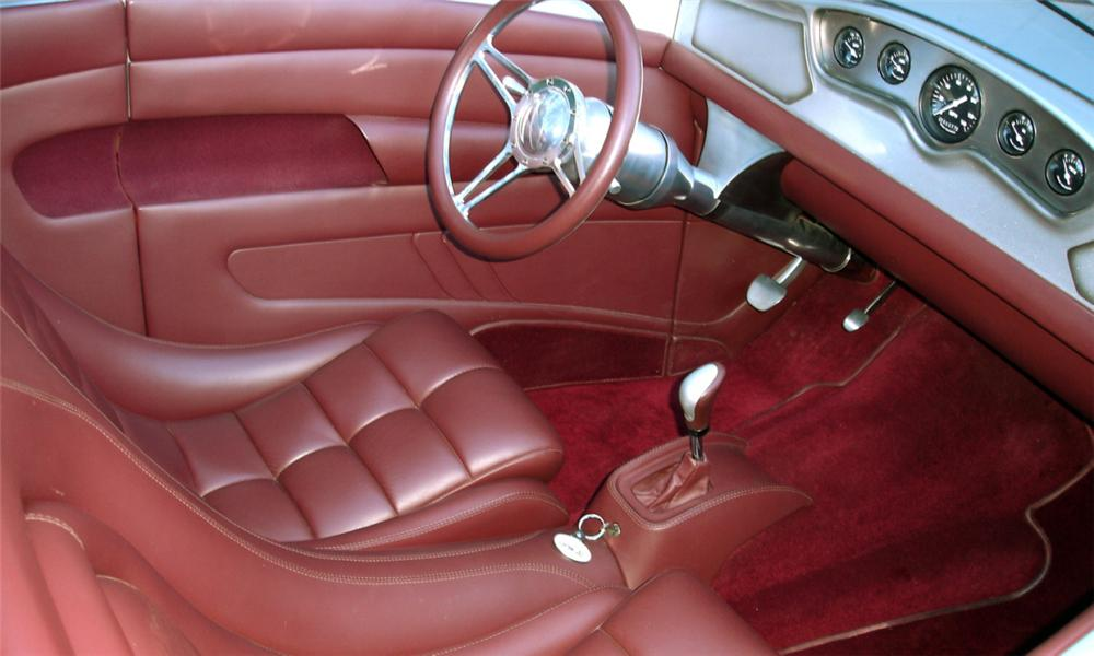 1932 FORD CUSTOM TWIN-TURBO ROADSTER - Interior - 81989