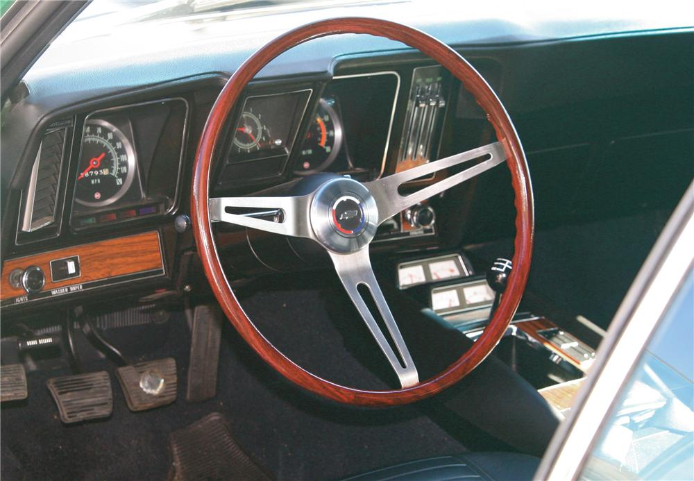 1969 CHEVROLET CAMARO Z/28 2 DOOR COUPE - Interior - 81991