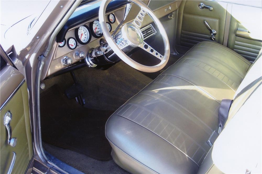 1967 CHEVROLET NOVA 4 DOOR WAGON - Interior - 81997