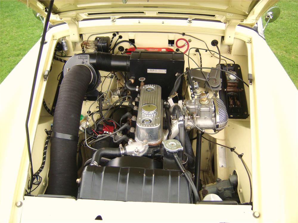 Engine for mg midget Just see