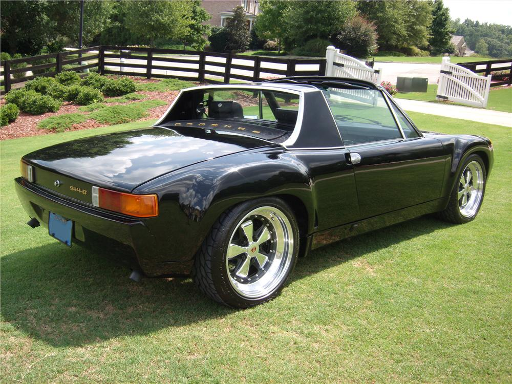 1974 PORSCHE 914 CUSTOM TARGA - Rear 3/4 - 82009