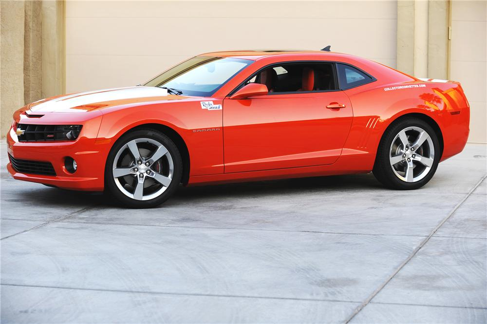 2010 CHEVROLET CAMARO SS 2 DOOR COUPE - Side Profile - 82014