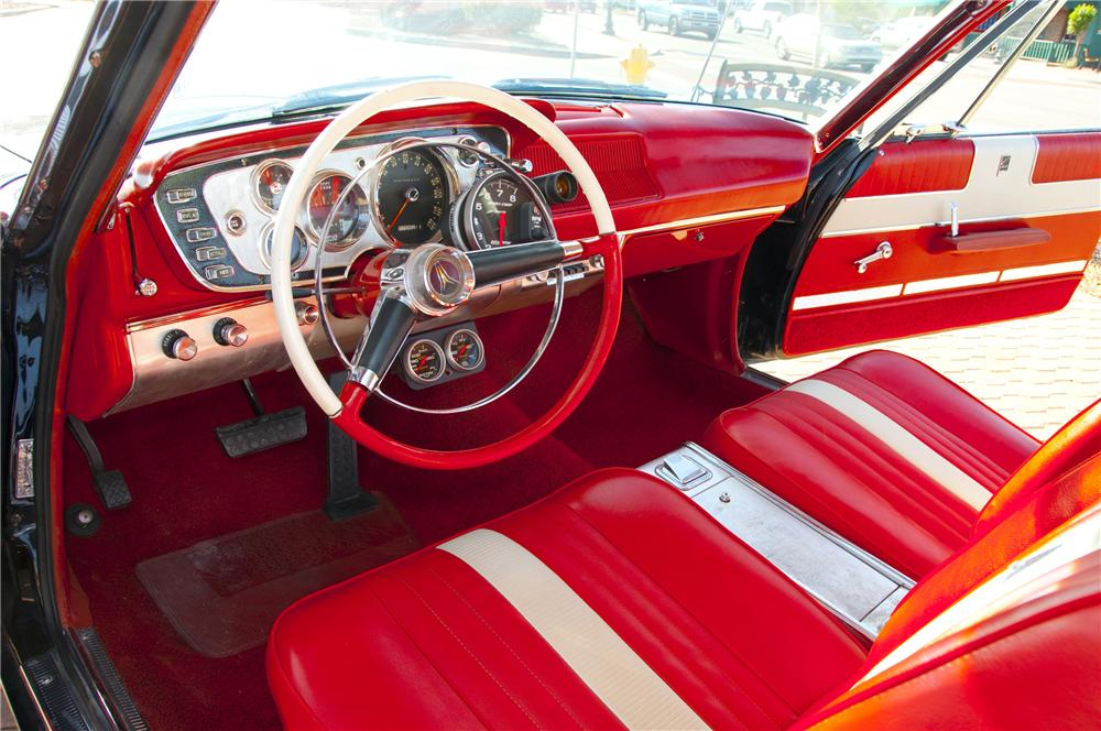 1963 PLYMOUTH SPORT FURY MAX WEDGE RE-CREATION - Interior - 82016