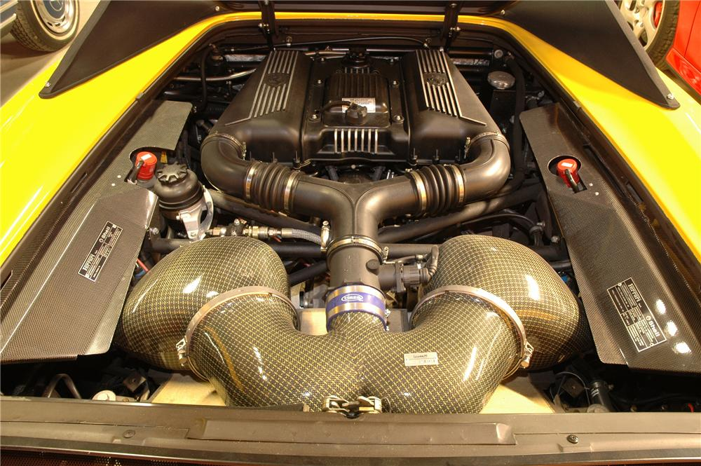 1999 FERRARI F-355 SPIDER - Engine - 82019