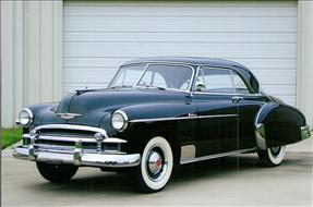 1950 CHEVROLET BEL AIR 2 DOOR HARDTOP - Front 3/4 - 82020