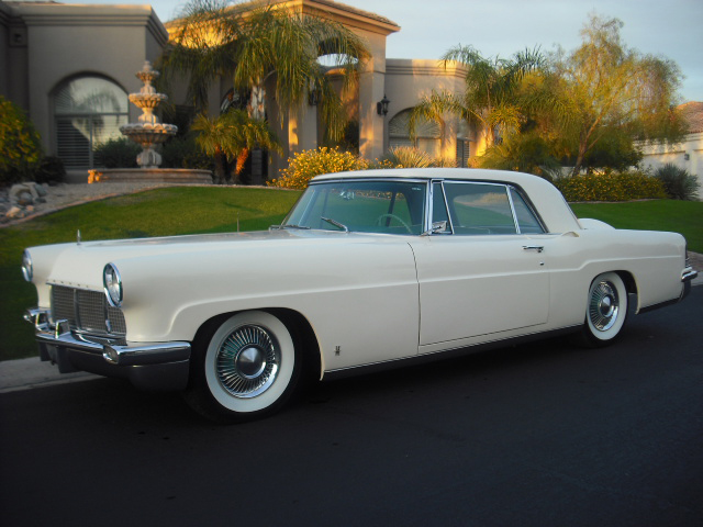 1956 LINCOLN CONTINENTAL MARK II 2 DOOR HARDTOP - Front 3/4 - 82023