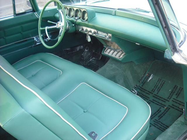 1956 LINCOLN CONTINENTAL MARK II 2 DOOR HARDTOP - Interior - 82023