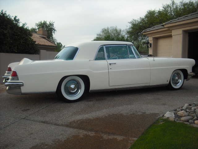 1956 LINCOLN CONTINENTAL MARK II 2 DOOR HARDTOP - Rear 3/4 - 82023