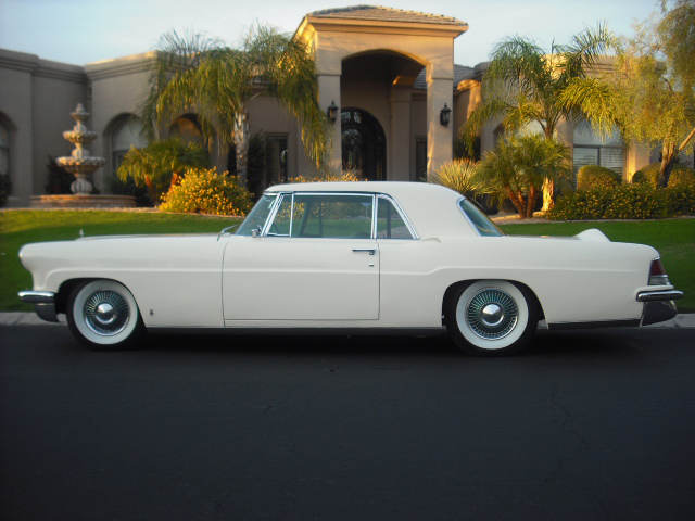 1956 LINCOLN CONTINENTAL MARK II 2 DOOR HARDTOP - Side Profile - 82023