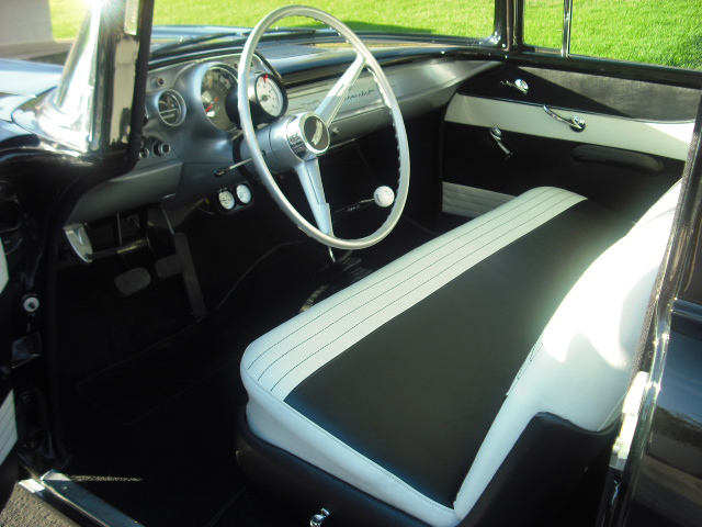 1957 CHEVROLET 150 CUSTOM 2 DOOR HARDTOP - Interior - 82024