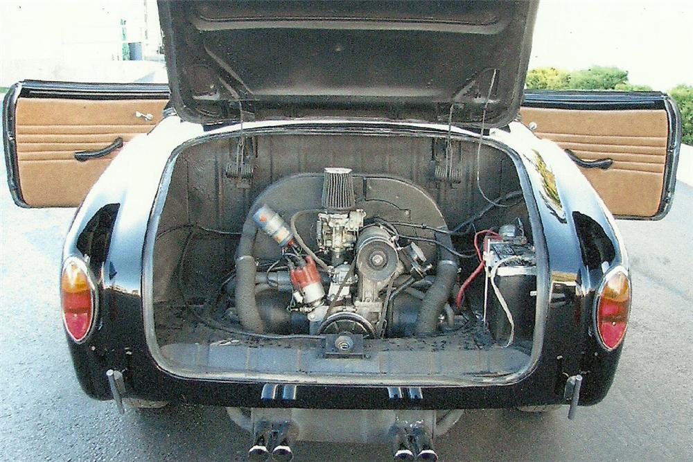 1963 VOLKSWAGEN KARMANN GHIA CONVERTIBLE - Engine - 82027