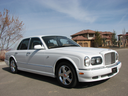 2002 BENTLEY ARNAGE RED LABEL TURBO 4 DOOR SEDAN - Front 3/4 - 82029