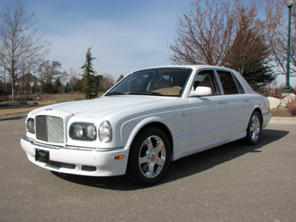 2002 BENTLEY ARNAGE RED LABEL TURBO 4 DOOR SEDAN - Side Profile - 82029