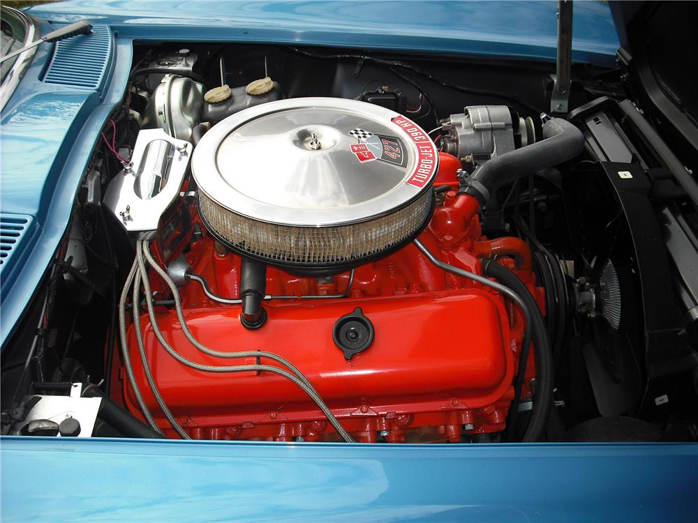 1966 CHEVROLET CORVETTE CONVERTIBLE - Engine - 82032