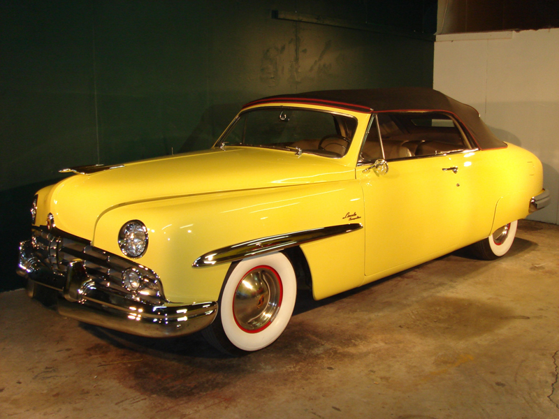1949 LINCOLN COSMOPOLITAN 2 DOOR CONVERTIBLE - Front 3/4 - 82033