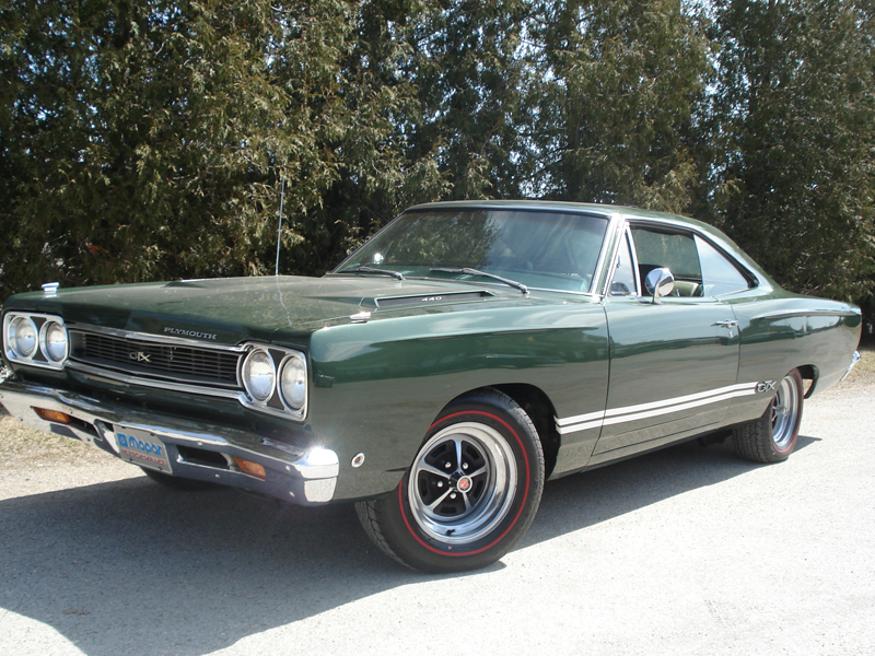 1968 PLYMOUTH GTX 2 DOOR COUPE - Front 3/4 - 82035