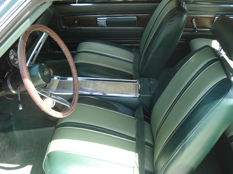 1968 PLYMOUTH GTX 2 DOOR COUPE - Interior - 82035