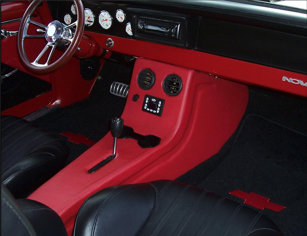 1966 CHEVROLET NOVA PRO-TOURING COUPE - Interior - 82036
