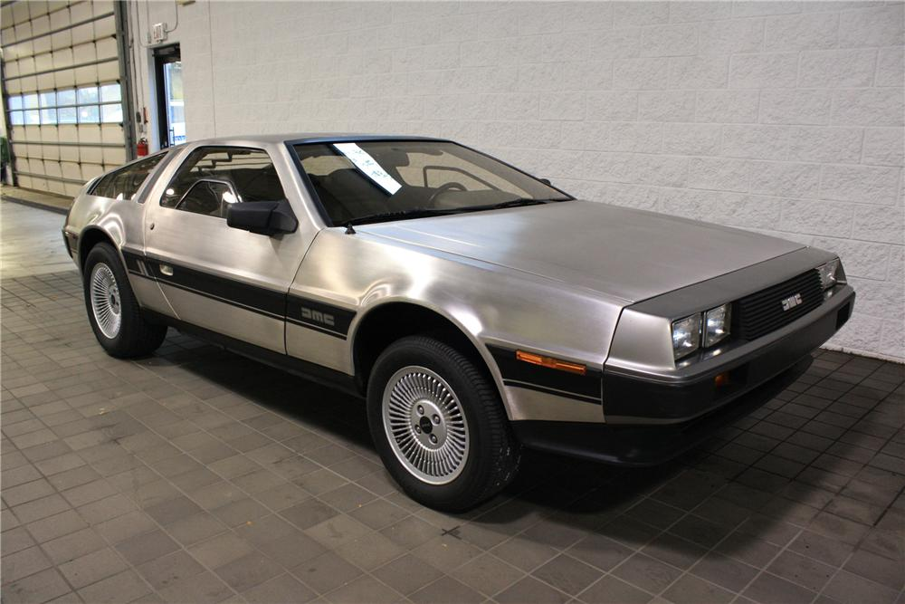 1981 DELOREAN DMC-12 COUPE - Front 3/4 - 82042