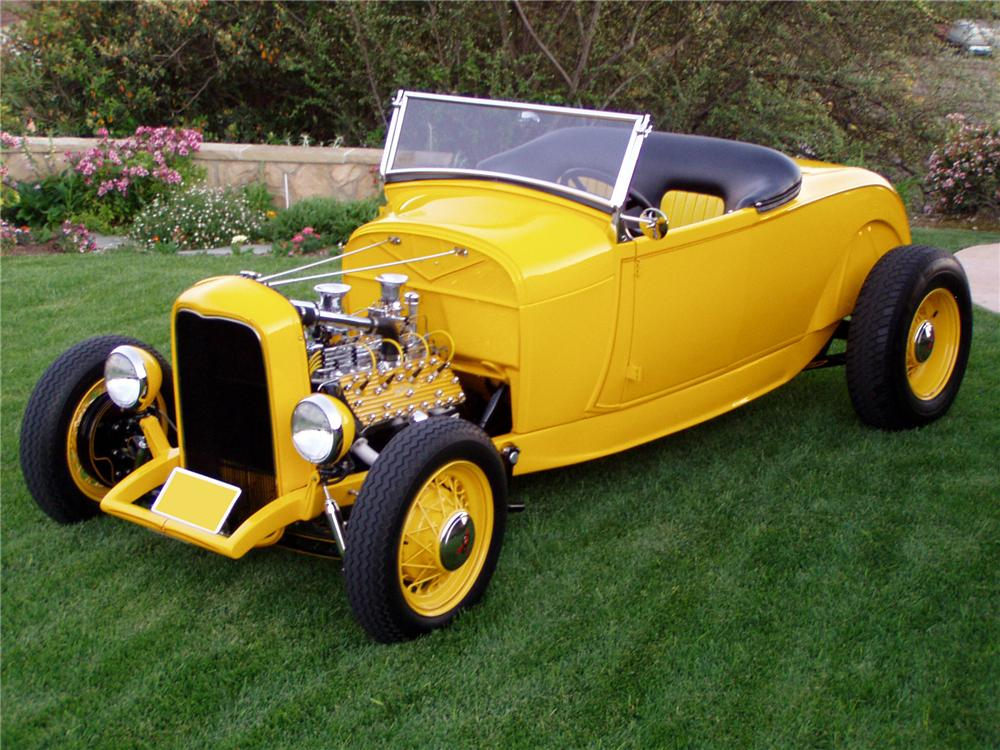 1929 FORD CUSTOM ROADSTER - Front 3/4 - 82057