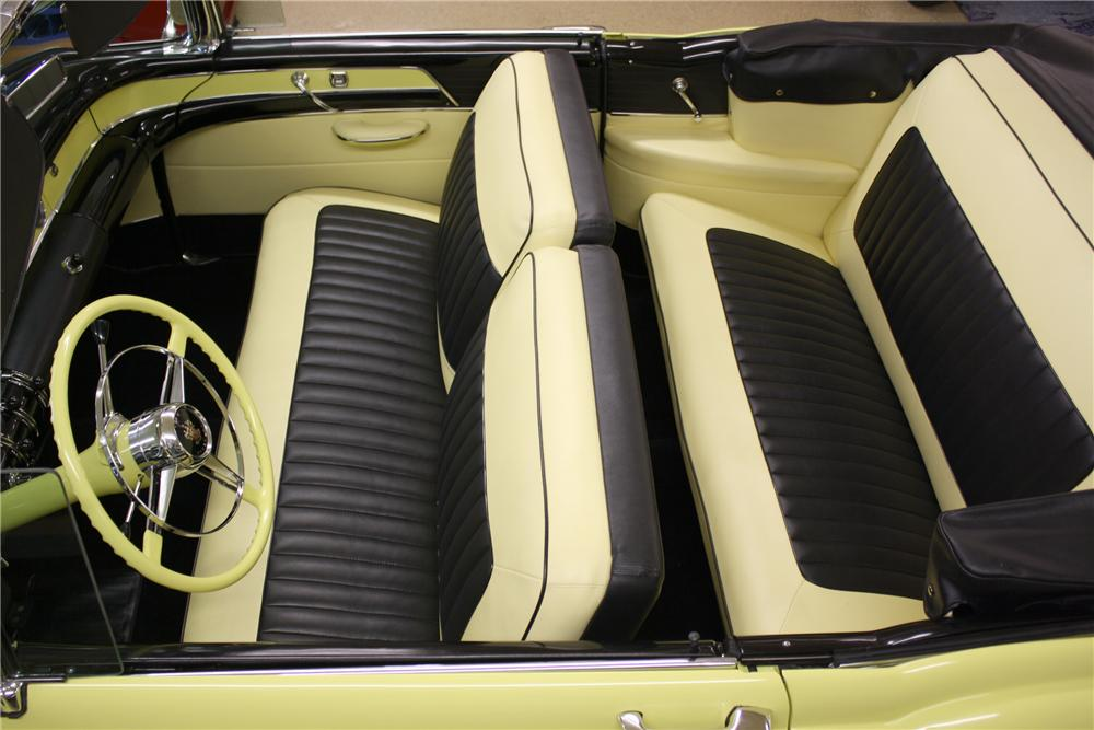 1954 BUICK SUPER CONVERTIBLE - Interior - 82060
