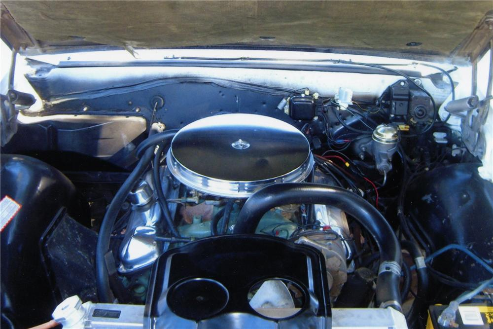 1966 PONTIAC GTO 2 DOOR CONVERTIBLE - Engine - 82094