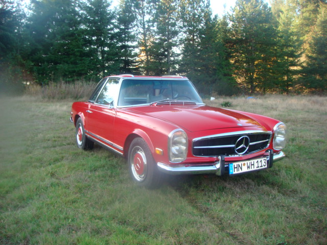 1971 MERCEDES-BENZ 280SL ROADSTER - Front 3/4 - 82103