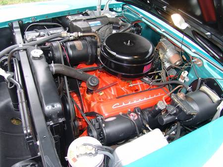 1957 CHEVROLET BEL AIR 2 DOOR HARDTOP - Engine - 82105
