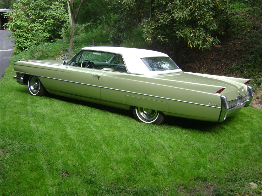 1964 cadillac de ville 2 door hardtop 82111 for Door 2 door cars