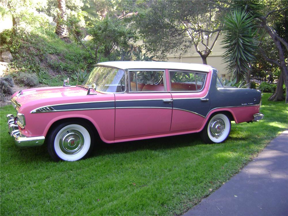 1956 HUDSON RAMBLER 4 DOOR SEDAN - Side Profile - 82114