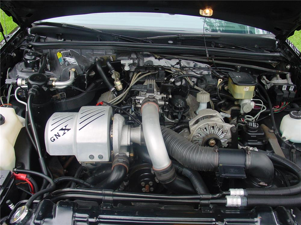 1987 BUICK GNX COUPE - Engine - 82128
