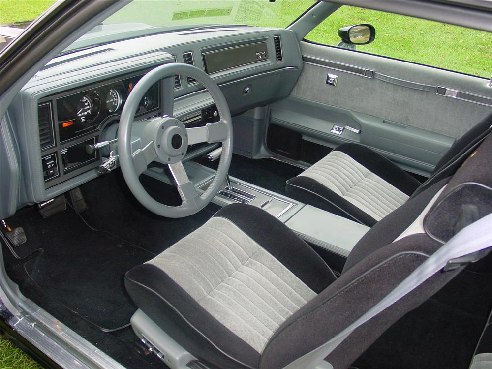 1987 BUICK GNX COUPE - Interior - 82128