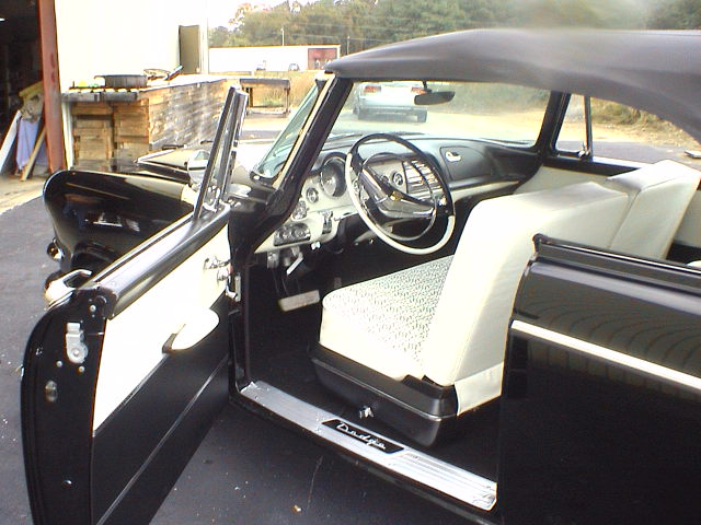 1956 DODGE CORONET CONVERTIBLE - Interior - 82129