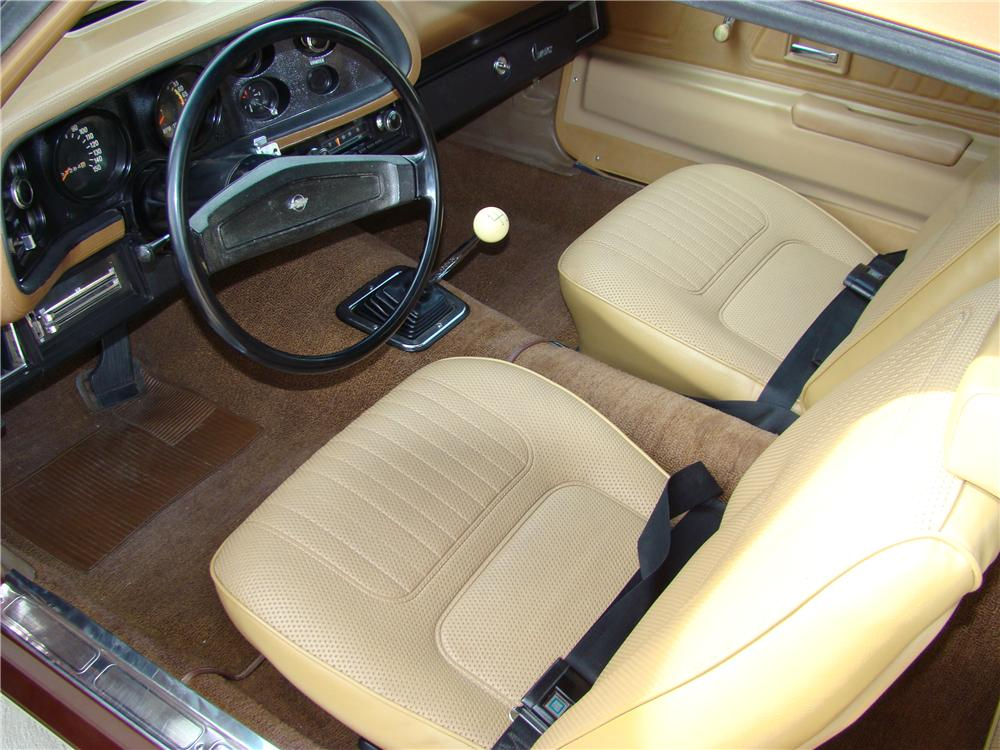 1970 CHEVROLET CAMARO Z/28 COUPE - Interior - 82141