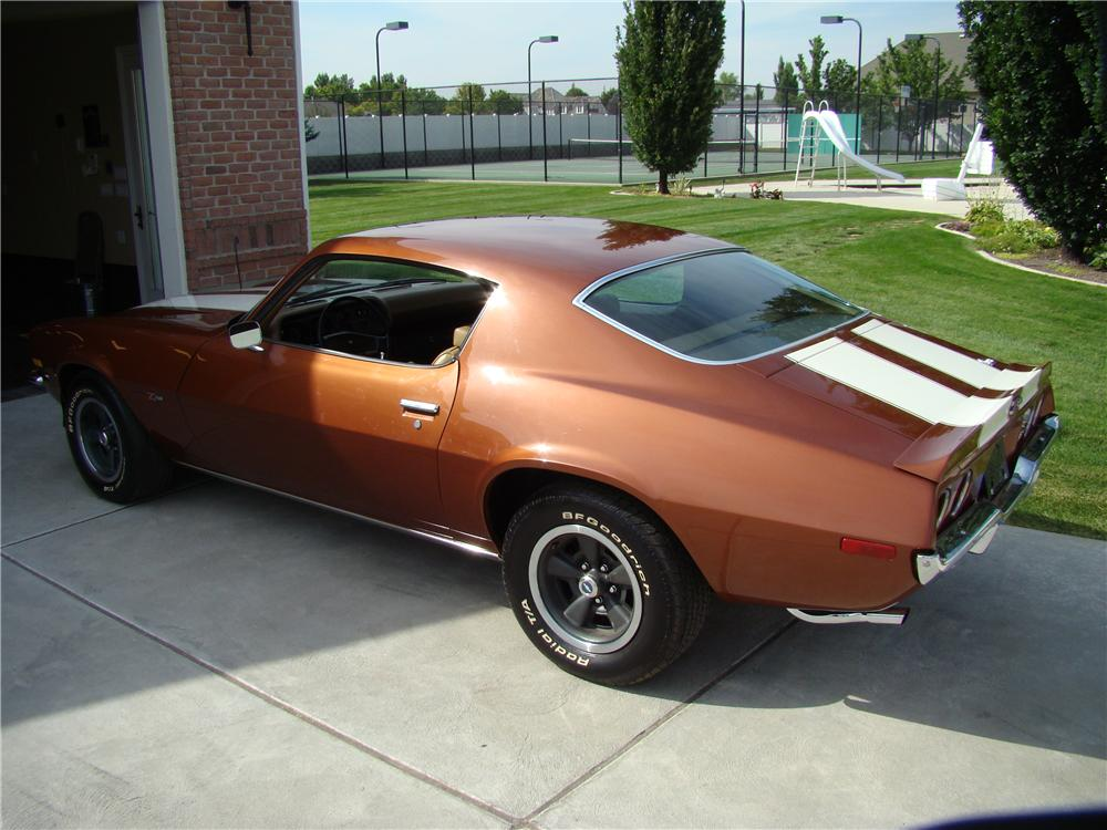 1970 CHEVROLET CAMARO Z/28 COUPE - Rear 3/4 - 82141