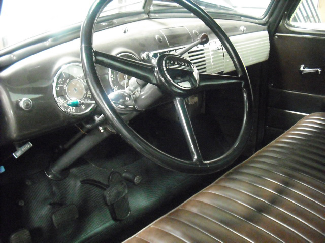 1950 CHEVROLET 3100 PICKUP - Interior - 82148
