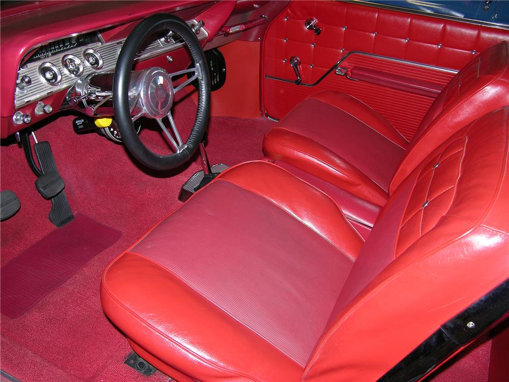 1962 CHEVROLET IMPALA SS CUSTOM 2 DOOR HARDTOP - Interior - 82153