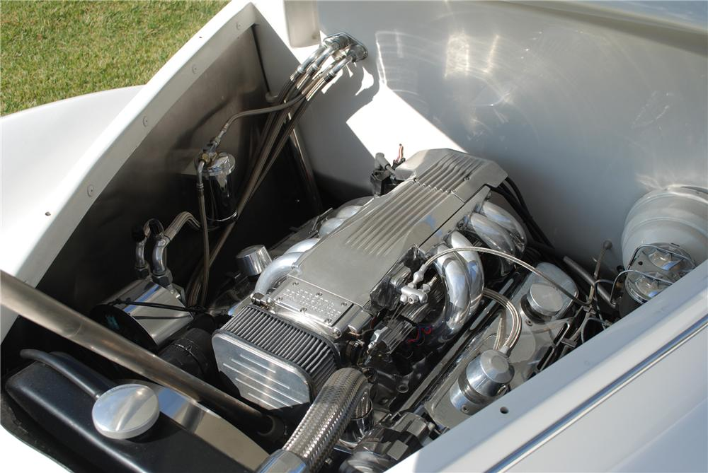 1939 LINCOLN ZEPHYR CUSTOM CONVERTIBLE - Engine - 82157