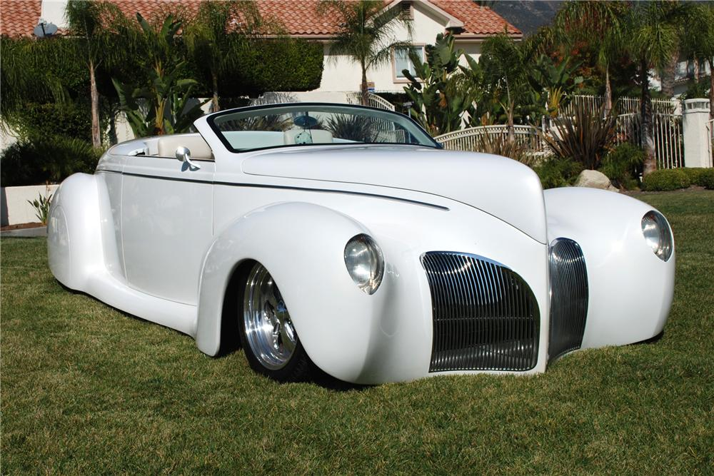 1939 lincoln zephyr custom convertible 82157 for 1936 lincoln zephyr three window coupe