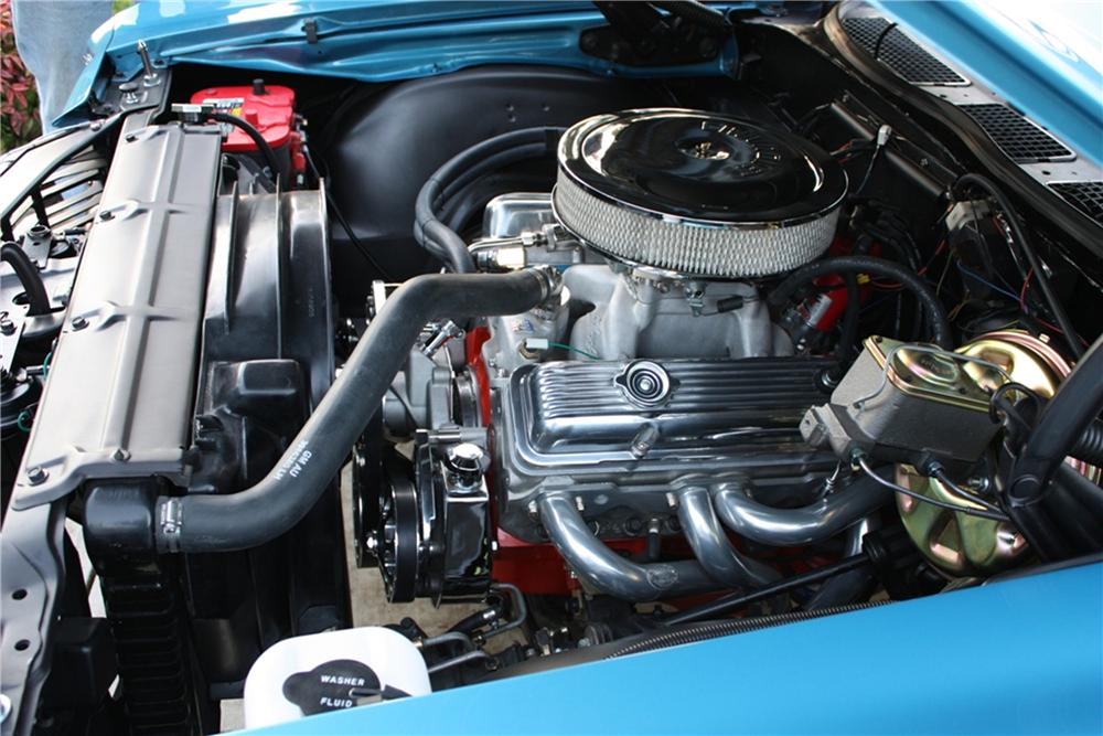 1972 CHEVROLET CHEVELLE SS CONVERTIBLE - Engine - 82165