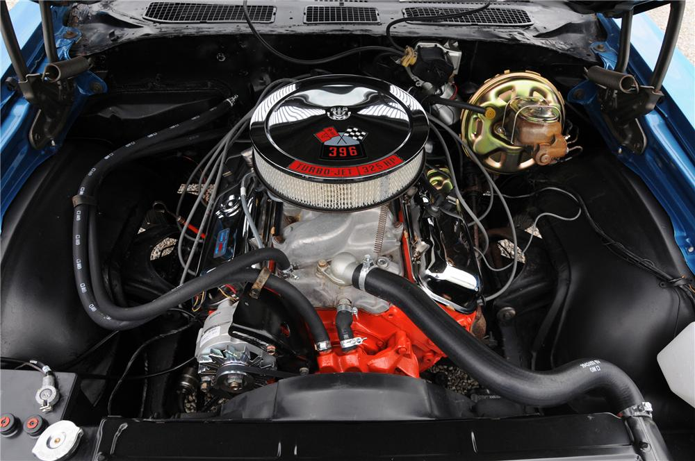 1969 CHEVROLET CHEVELLE COUPE - Engine - 82169