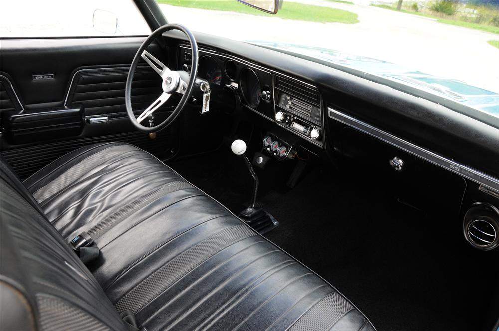 1969 CHEVROLET CHEVELLE COUPE - Interior - 82169