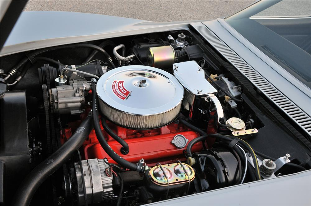1969 CHEVROLET CORVETTE CONVERTIBLE - Engine - 82174